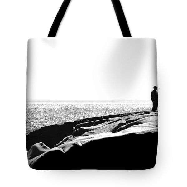 Fishers By The Sea Tote Bag by Matthew Blum