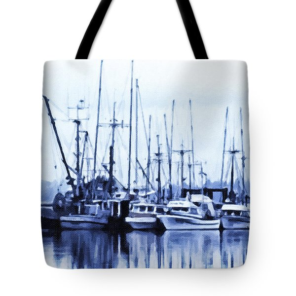 Fishers' Wharf Tote Bag