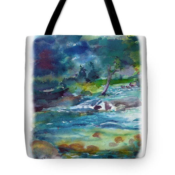 Fishin' Hole 2 Tote Bag