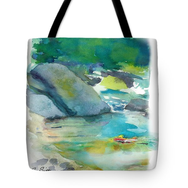 Fishin' Hole Tote Bag by C Sitton
