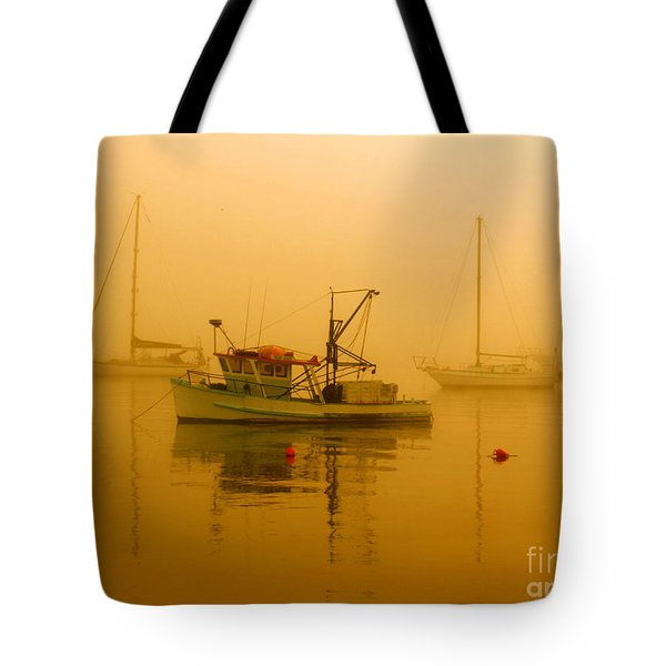 Tote Bag featuring the photograph Fishing Boat by Trena Mara