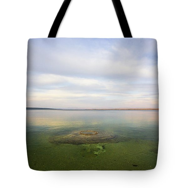 Fishing Cone At Sunset Tote Bag