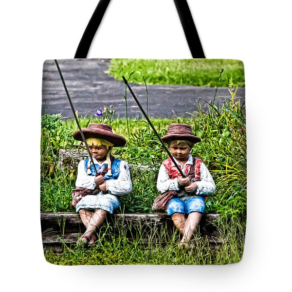 Fishing Day Tote Bag
