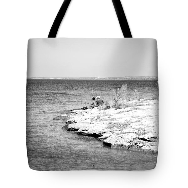 Tote Bag featuring the photograph Fishing by Erika Weber