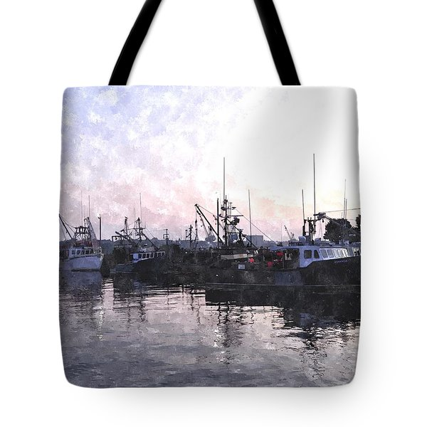 Fishing Fleet Ffwc Tote Bag by Jim Brage