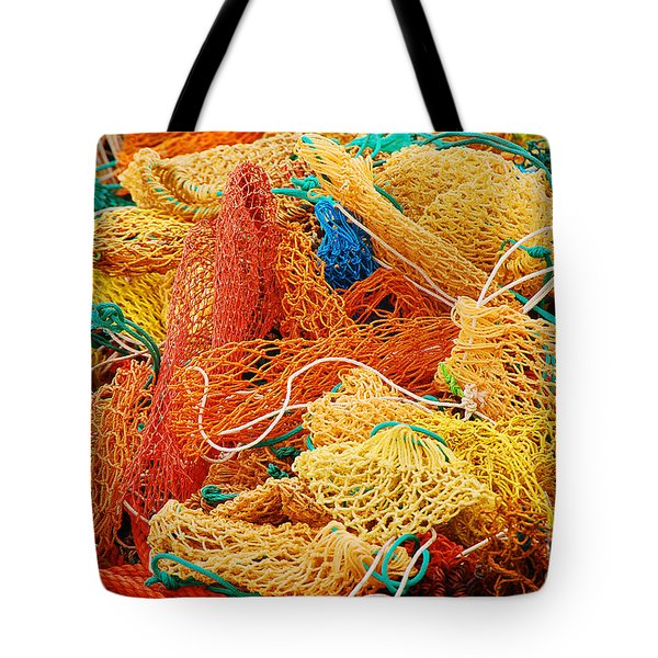 Fishing Float Nets Tote Bag