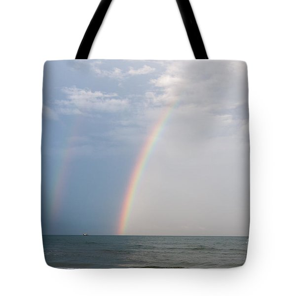 Fishing For A Pot Of Gold Tote Bag by Paul Rebmann
