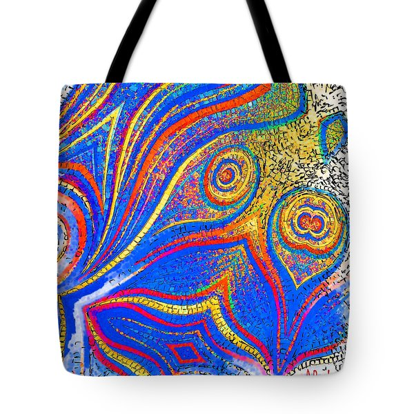 Fishing For Colours Tote Bag by Alec Drake