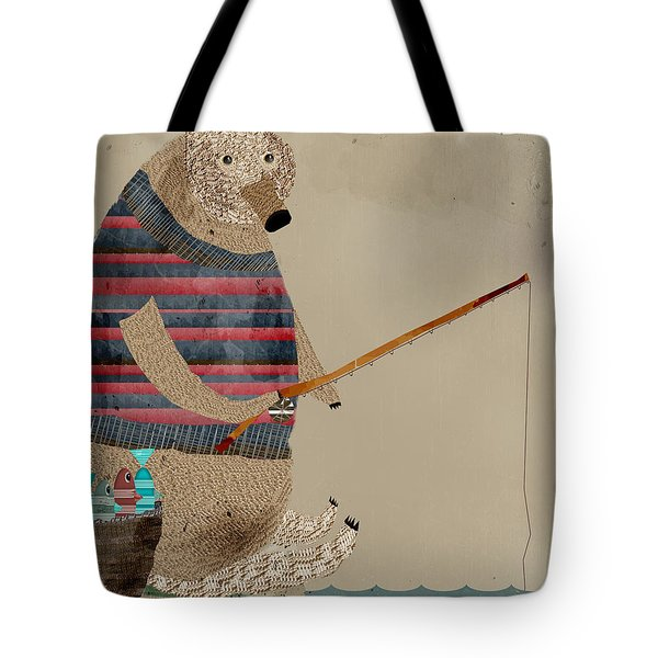 Fishing For Supper Tote Bag