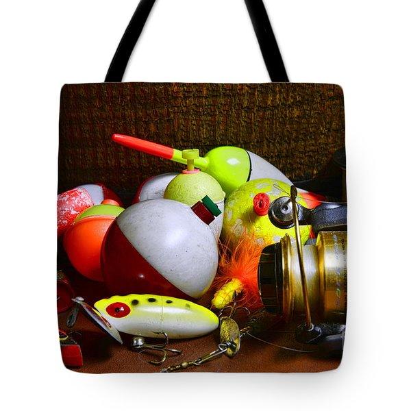 Fishing - Freshwater Tackle Tote Bag by Paul Ward