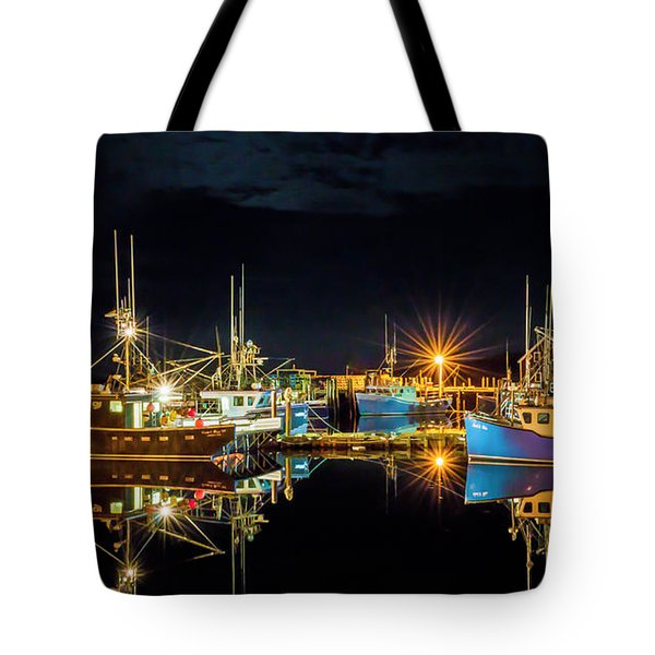Fishing Hamlet Tote Bag