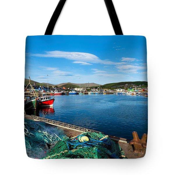 Fishing Harbor, Dingle Harbour, Dingle Tote Bag