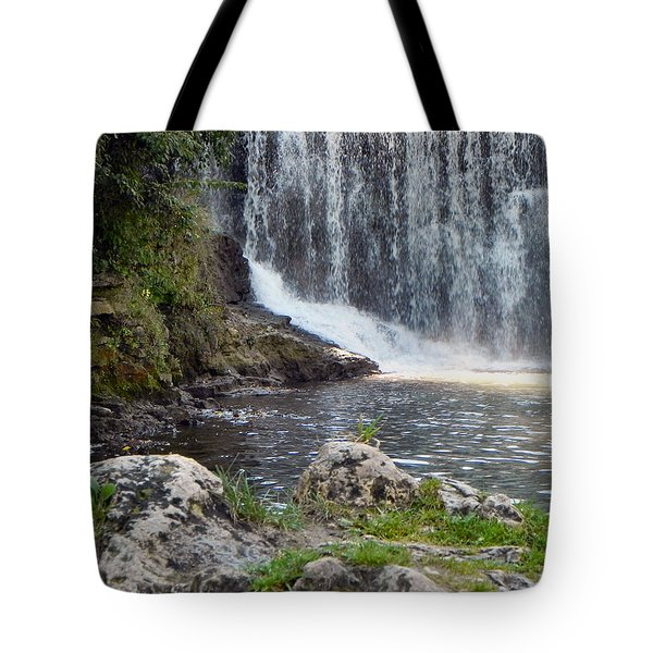 Tote Bag featuring the photograph Fishing Hole by Deb Halloran