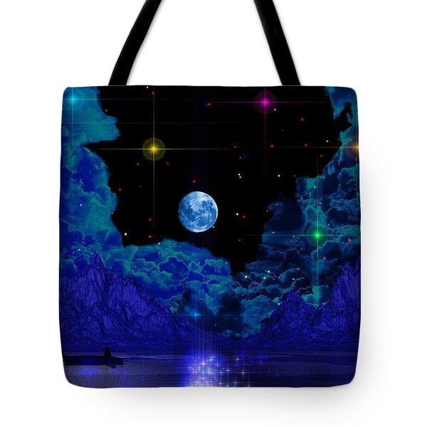 Tote Bag featuring the photograph Fishing by Mark Blauhoefer