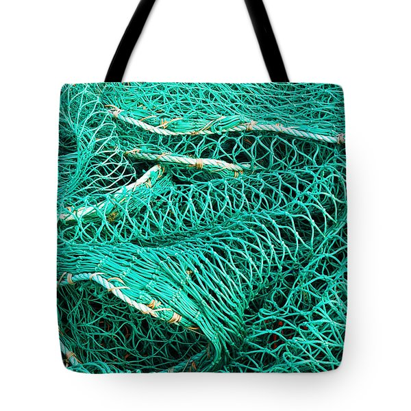 Fishing Nets Tote Bag by Jane McIlroy