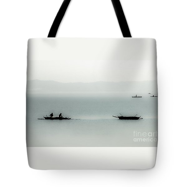 Fishing On The Philippine Sea   Tote Bag