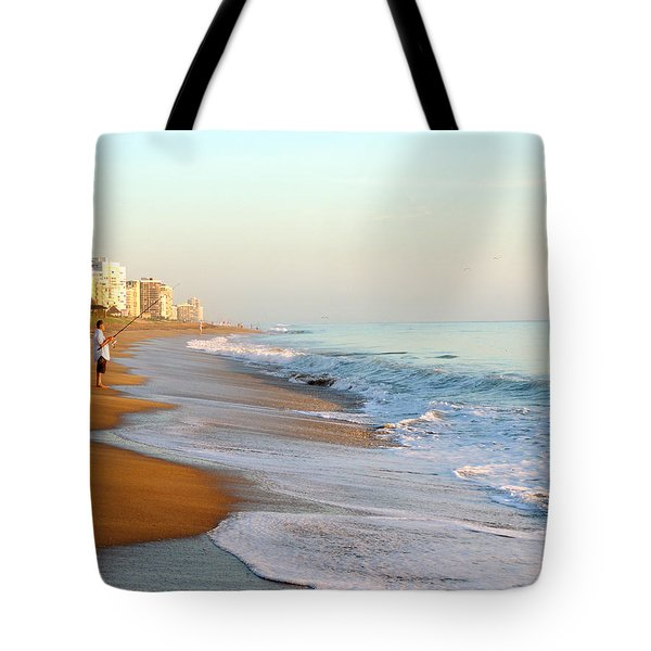 Fishing The Atlantic Tote Bag
