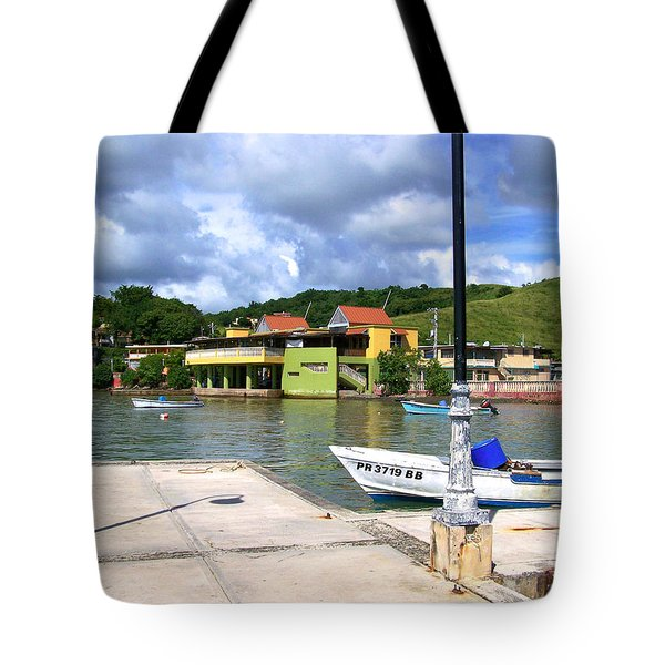 Fishing Village Puerto Rico Tote Bag