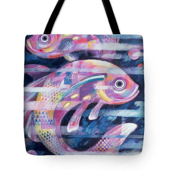 Fishstream Tote Bag by Sarah Porter