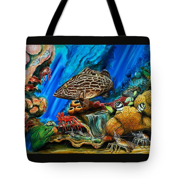 Fishtank Tote Bag