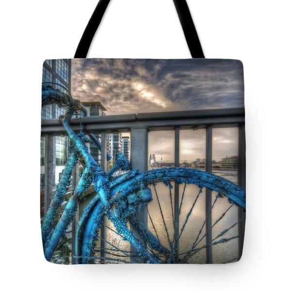 Fishy Bike Tote Bag