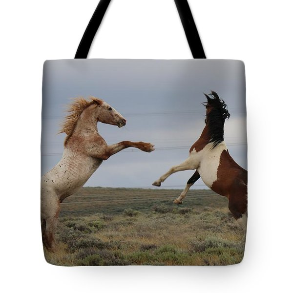 Fist Fight  Tote Bag
