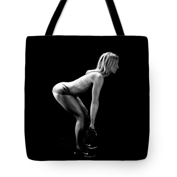 Fitness - Squats Tote Bag
