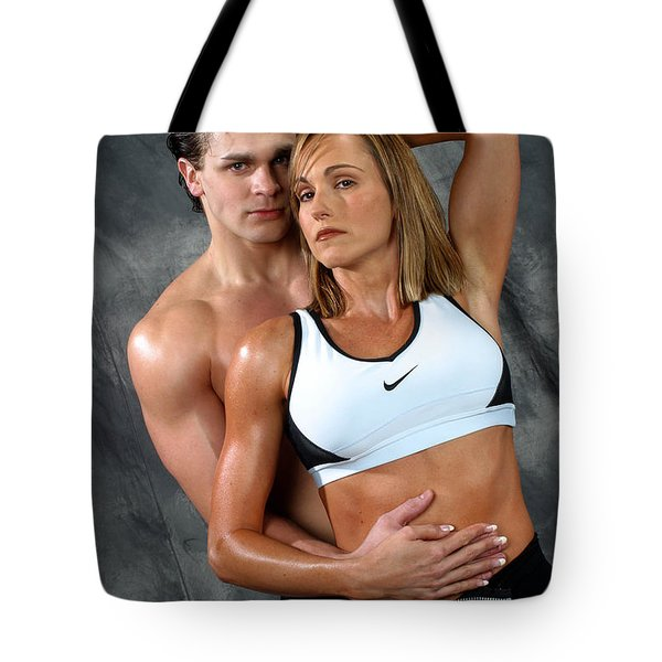 Fitness Couple 27 Tote Bag by Gary Gingrich Galleries