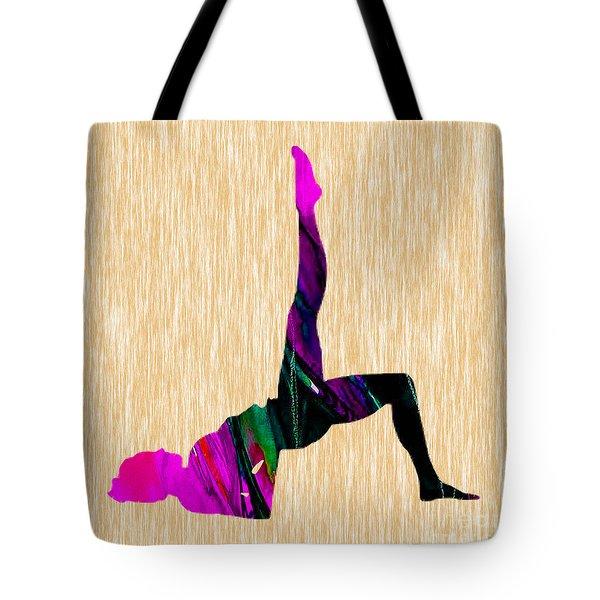 Fitness Inspiration Tote Bag