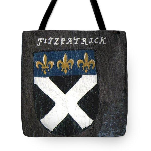Fitzpatrick Tote Bag by Barbara McDevitt