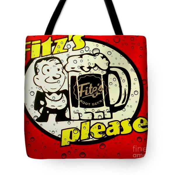 Fitz's Please All Wet Tote Bag