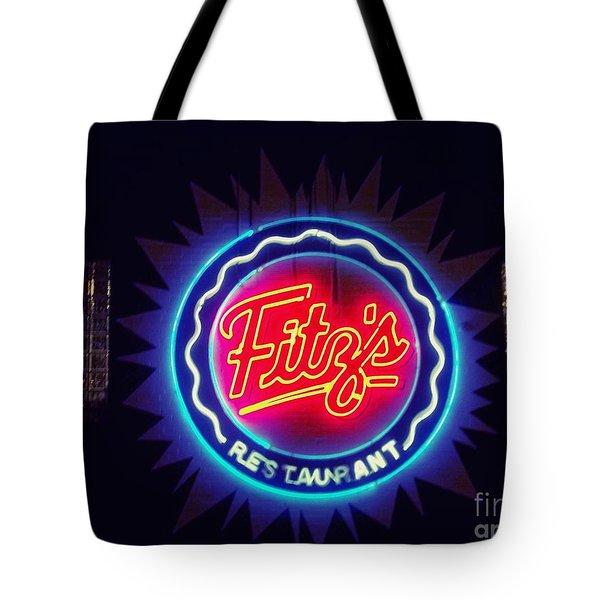 Fitz's Restaurant 2 Tote Bag