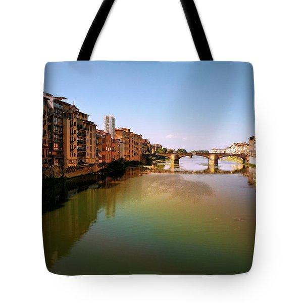 Fiume Di Sogni Tote Bag by Micki Findlay