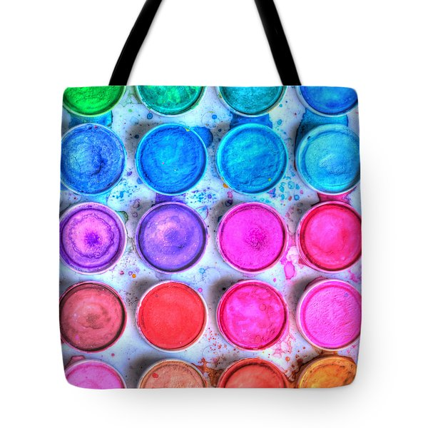 Five By Four Watercolor Tote Bag by Heidi Smith