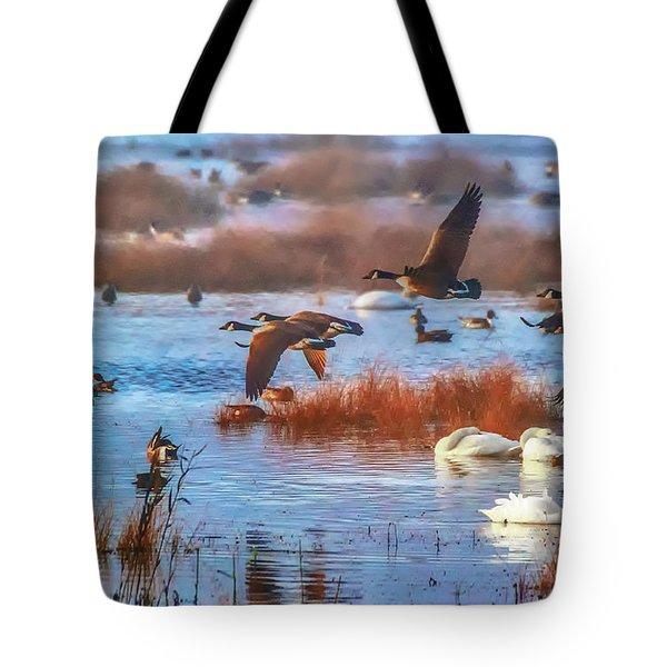 Five Canadians Tote Bag
