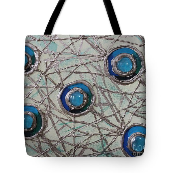 Five Circles Tote Bag by Cynthia Snyder