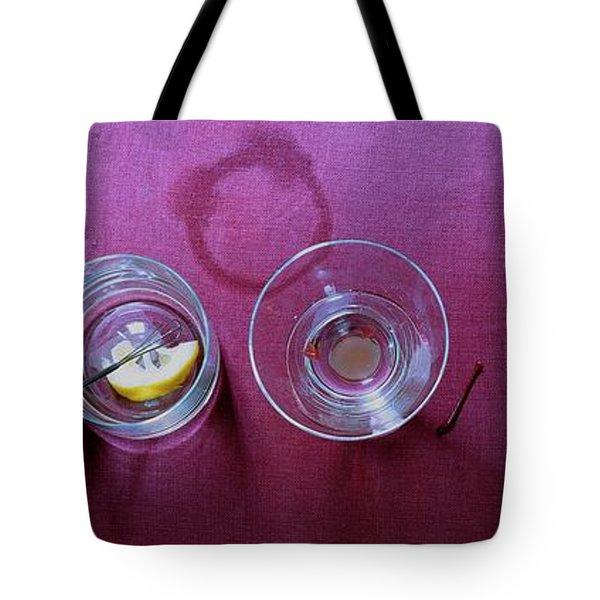 Five Cocktails Tote Bag
