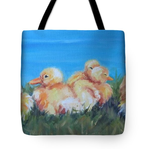Five Ducklings Tote Bag