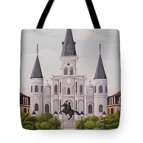 Five Fifteen In New Orleans Tote Bag