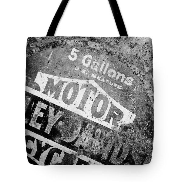 Five Gallon Motorcycle Oil Can Tote Bag by Wilma  Birdwell