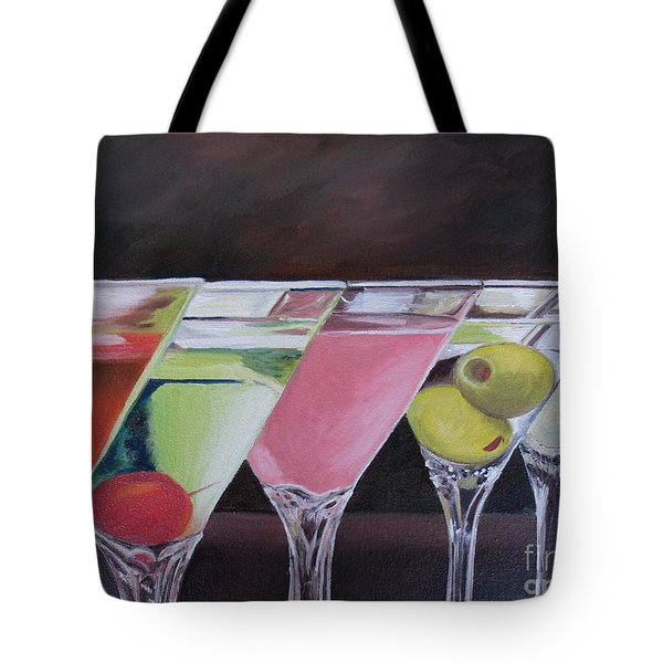 Five O'clock Tote Bag by Julie Brugh Riffey