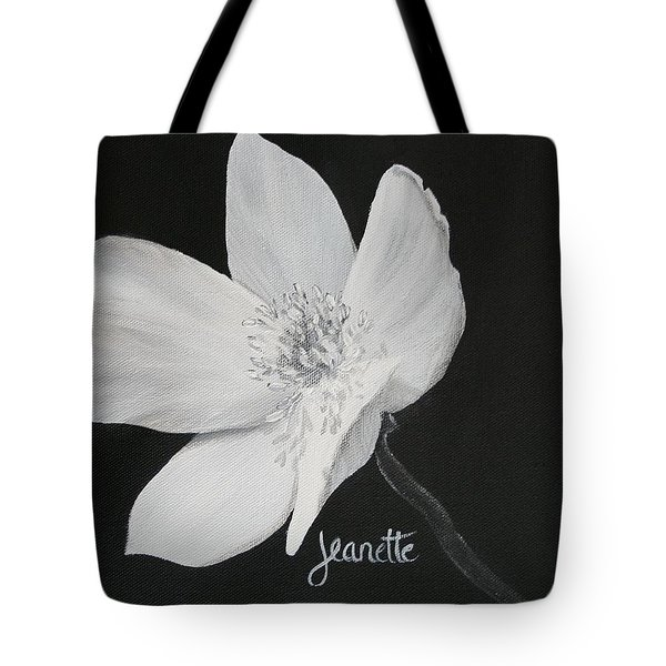 Five Petal Rose Tote Bag