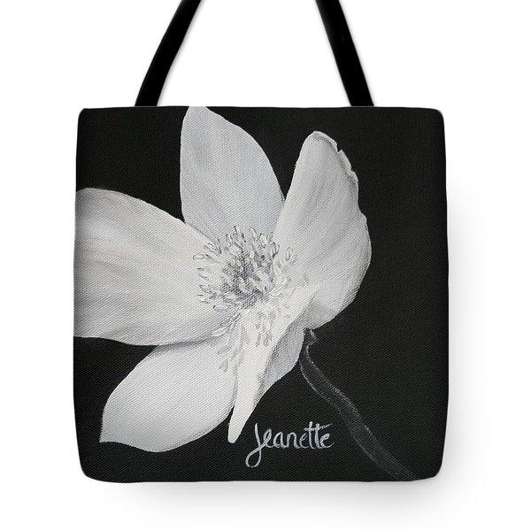 Five Petal Rose Tote Bag