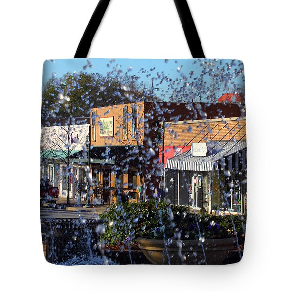 Tote Bag featuring the photograph Five Points by Joseph C Hinson Photography