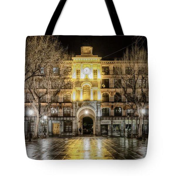 Five Till Seven Tote Bag by Joan Carroll