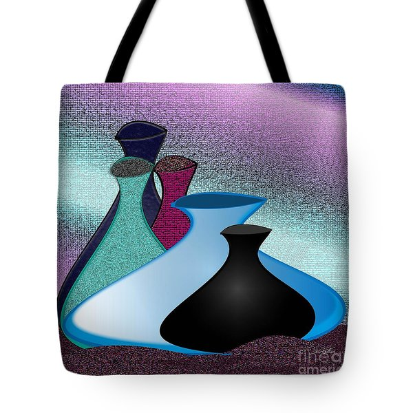 Five Vases Tote Bag