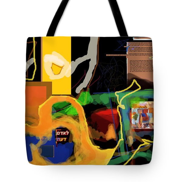 Fixing Space 1l Tote Bag by David Baruch Wolk