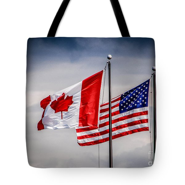 Flag Duo Tote Bag