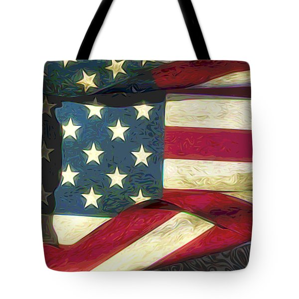 Flag Tote Bag by Matt Lindley