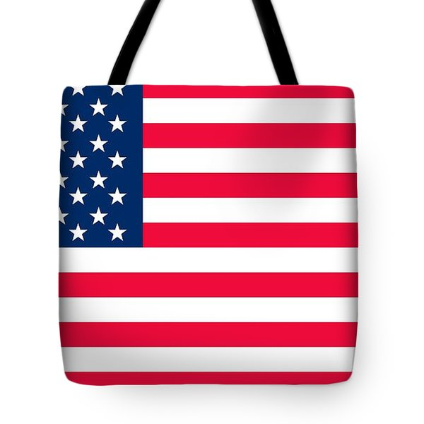 Flag Of The United States Of America Tote Bag